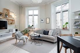 scandinavian design living room living room designed with a