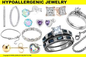 hypoallergenic jewelry the cure for gold nickel allergies jewelry secrets