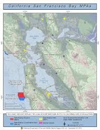 Map Of San Francisco Area by San Francisco Bay Marine Protected Areas