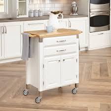 home styles dolly madison prep serve kitchen cart black islands