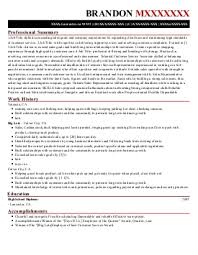 small business owner resume sample zumba class director of