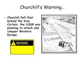 Iron Curtain Political Cartoon Rebuilding Europe The Iron Curtain Winston Churchill Coined This
