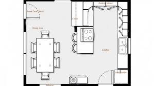 kitchen floorplan interior design for contemporary small kitchen floor plans 12