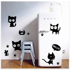 45 60cm removable wall decal wall sticker cats diy