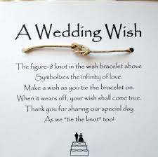 a wedding wish a wedding wish bracelet such a favor i to do this