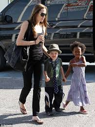 why brad pitt angelina jolie and their children are hollywood u0027s