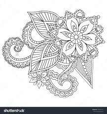 abstract coloring pages for adults new henna mandala coloring