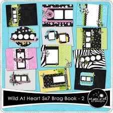 5x7 brag book at heart 5x7 brag book set 2 5 99 as you wish designs
