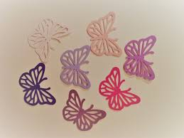 Crafters Supply Paper Cut Out Easter Butterfly For Any Project Art Craft Supply