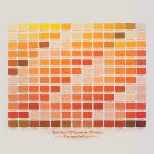 Colors Orange Color Matching Disclaimer