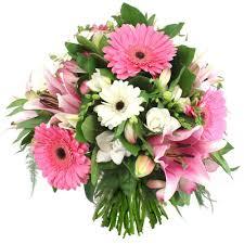bouquet de fleurs roses blanches bouquet de fleurs roses et blanches duchesse florajet