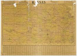 Map Of The State Of Kansas by Map Of The State Of Kansas Kansas Memory Kansas Historical Society