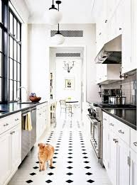 black and white kitchen floor images 61 black and white floors ideas white floors flooring