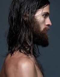why do i love men with beards and long hair damn pinterest