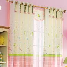 pink best room darkening curtains for girls