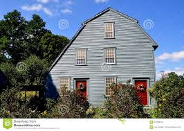 Colonial Saltbox Woodbury Ct 1750 Glebe House Editorial Stock Photo Image 84769213