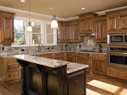 granite kitchen countertops modern home design