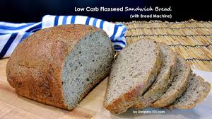 Whole Wheat Bread Machine Recipes Low Carb Flaxseed Sandwich Bread With Bread Machine Dietplan