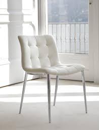 bontempi sedia sedia kuga di bontempi con struttura in acciaio laccato