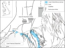 Map Of Ne The Control Of Basin Evolution On Patterns Of Sedimentation And