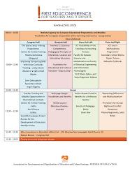 agenda bureau agenda of education