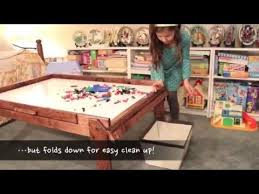 fold up children s table fold up kids activity table train table table youtube