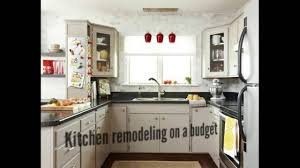 Kitchen Designs On A Budget Kitchen Remodeling On A Budget Youtube
