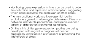 analysis of gene expression data gene expression data is a high