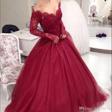 pretty dresses lace shoulder prom dress beadings sleeve zipper backless