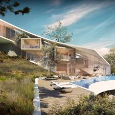houses built on slopes casa colina in madeira by saota madeira architecture and villas