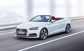 audi cabriolet convertible 2018 audi a5 and s5 cabrios photos and info car and driver