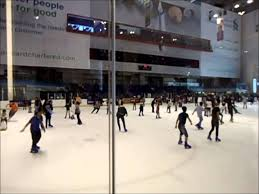 dubai mall ice rink indoor ice skating in the united arab