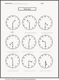 Time Clock Worksheets Kids Grade 2 Math Printable Worksheets Addition Telling Time
