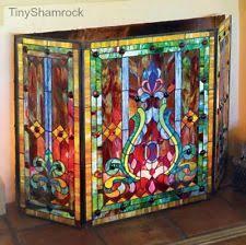 fireplace screen with glass doors arts u0026 crafts mission style fireplace screens u0026 doors ebay