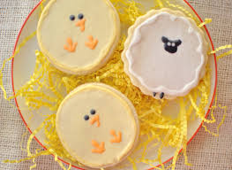 Decorated Easter Sugar Cookies LOVE this spring chick sheep