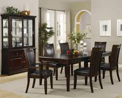 black dining table chairs top 68 supreme dining room furniture wood table and chair set black