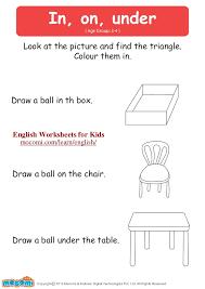 in on under u2013 english worksheets for kids u2013 mocomi com