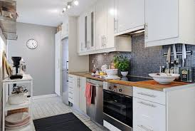 Black Subway Tile Kitchen Backsplash Tiles Backsplash Grey Kitchen Walls With Wood Cabinets And White