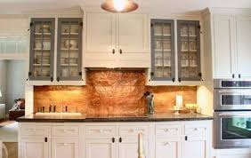 Kitchen Designs White Cabinets Copper Kitchen Backsplash With White Cabinets Designs Neriumgb