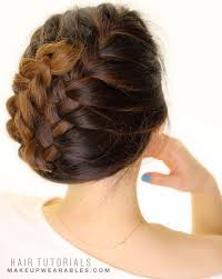 tuck in hairstyles how to french braid tuck your hair in 5 minutes hairstyles