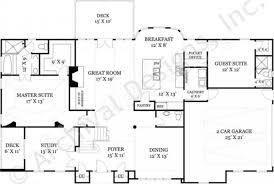 gloucester ranch home plan open home floor plans