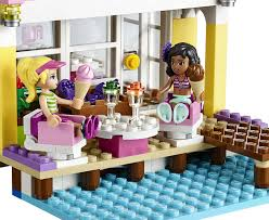 amazon com lego friends 41037 stephanie u0027s beach house 369 pcs