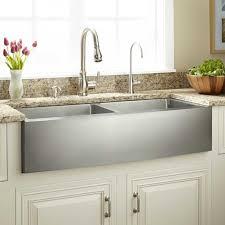 cheap farmhouse kitchen sink 39 fournier double bowl stainless steel farmhouse sink curved
