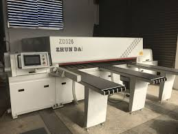 full automatic 2 7m panel cutting saw woodworking machinery for