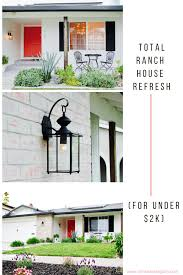rancher house how to give a boring 1960s ranch house a stylish exterior makeover
