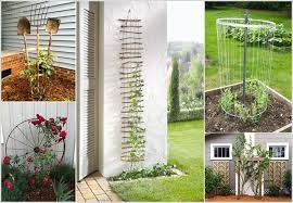 build a garden trellis 10 easy yet beautiful diy garden trellis projects