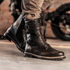 biker riding boots the cafe racer vintage style motorcycle apparel accessories