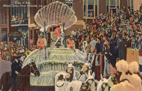 vintage mardi gras new orleans postcard roundup