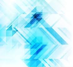 abstract blue geometric mosaic background free vector graphics