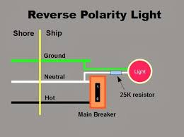 the marine installer u0027s rant the reverse polarity light ac leaking